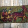 H. Sulkowska vintage rug vloerkleed jaren 60
