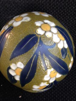 A. Mazoyer art deco glass lampenkapje