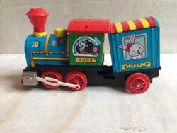 Japans blikken speelgoedtrein Modern Toys jaren 60-70
