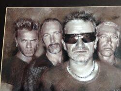 U2 druk Haiyn New York 2001