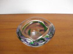 Max Verboeket asbak glas kristalunie Maastricht