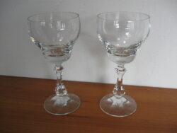 Kristallen glazen peervorm