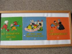 Flipje kinderboeken ingelijst 3 stuks
