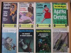 Agatha Christie pockets Engelstalig ingelijst jaren 60