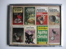 Agatha Christie pockets ingelijst Engelstalig jaren 60
