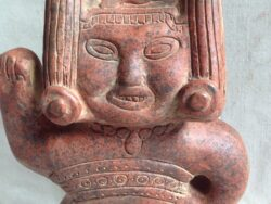 Terracotta Mexico art vrouwelijke