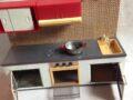 Speelgoed keukentje blik
