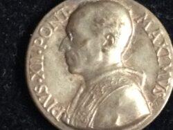 Medaille Pius XII Pont Maximus hanger