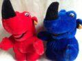 Steiff neushoorn soft toy mascotte