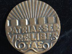 Patriae Servire Libertas medaille vrijwilligersmedaille