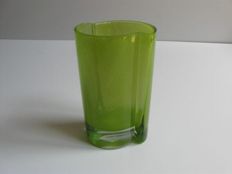 Modern glas vaas groen