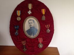 Medailles 1e Wereldoorlog België en foto