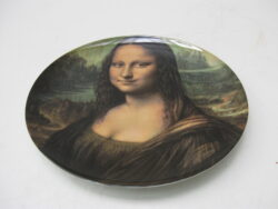 Mona Lisa wandbord porselein